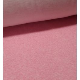 Sudadera perchada rosa jaspeado