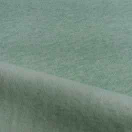 Sudadera perchada verde mint jaspeado
