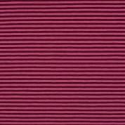 Punt ratlles rosa-burdeus 5mm