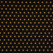 Punt estrelles ocre sobre negre