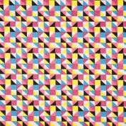 Punt diagonals purpurina