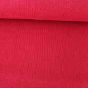 Punto acanalado rojo