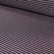 Punto rayas rosa-negro