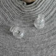 Freno cordón transparente