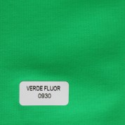 Tejido para baño verde fluor