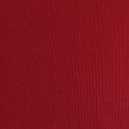 Punto acanalado COTON rojo