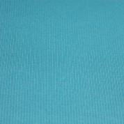 Punto acanalado COTON turquesa