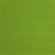 Punto acanalado COTON verde lima