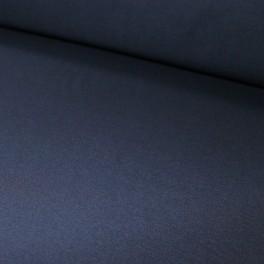 Punto acanalado COTON azul marino