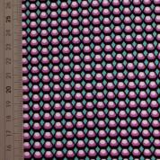 Tejido para baño geometrik lila turquesa