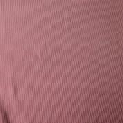 Punto acanalado COTON rosa