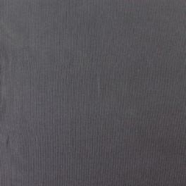 Punto acanalado COTON gris antracita