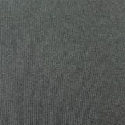 Punto acanalado COTON gris marengo