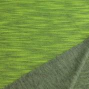 Sudadera doble cara gris-amarillo
