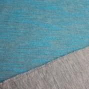 Sudadera doble cara gris-azul