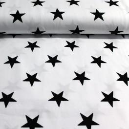 Punto blanco estrellas B&W