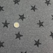 Sudadera perchada marengo estrellas